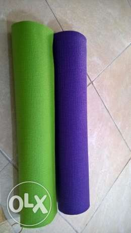 Yoga Mat For Exercise and Yoga to Keep FitNess - Buy 1 get 1 Free السيب -  3