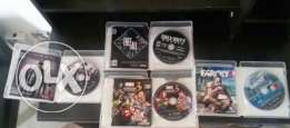 4 ps3 good condition games for sale