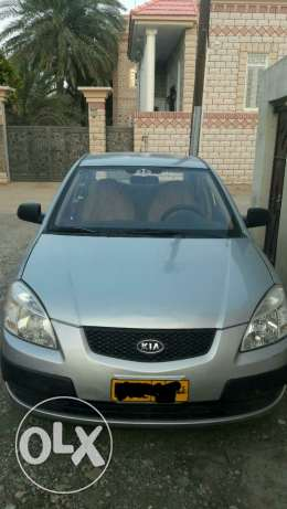 Kia rio 2009 automatic 1.4 clean price 1400 الرستاق -  1