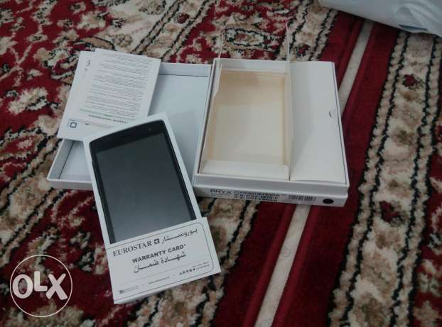 I want exchange this new android with good laptop or disc top مسقط -  1