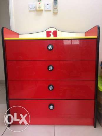 Boy's Car Theme Full Bedroom Set From PAN Emirates for sale. مسقط -  4