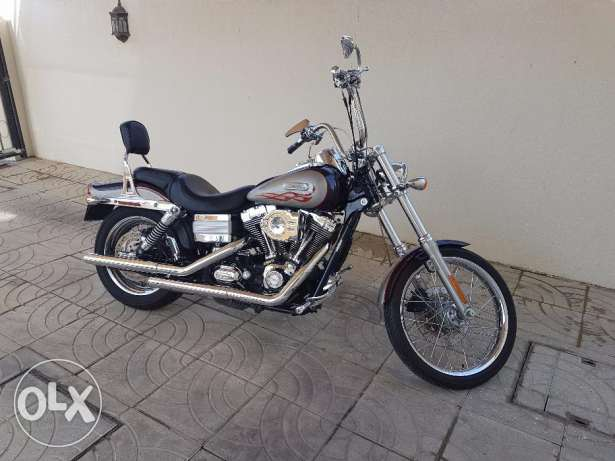 Harley Davidson Wide Glide...very clean and low mileage مسقط -  3