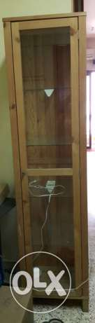 Set of Glass Cabinet