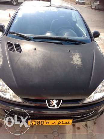Peugeot model 206CC covertable for sale , year 2007 السيب -  7