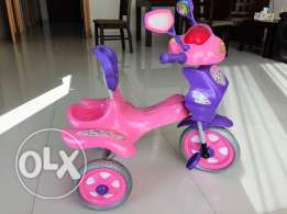 Toddler tricycle with music and lights