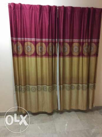 Curtains مسقط -  1