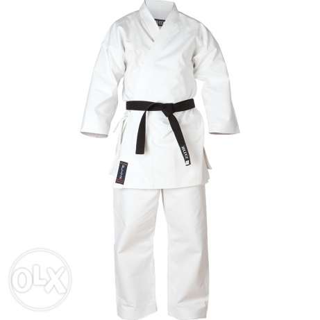Karate, boxing, other sports uniforms and equipments.