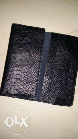 Skin leather wallet