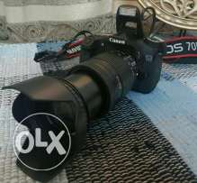 Canon 70D and 18-135