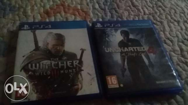 Witcher 3 and uncharted 4