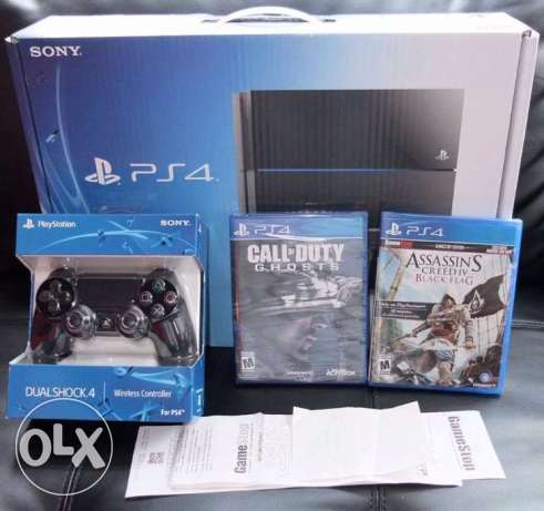 Sony Ps4 500gb game console with warranty