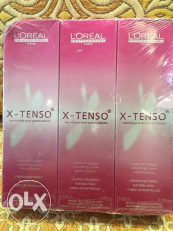 L'Oreal X-Tenso Smoothing Cream for Natural Hair