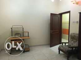 Furnished room with sharing bathroom n fully equipped kitchen N Azaiba