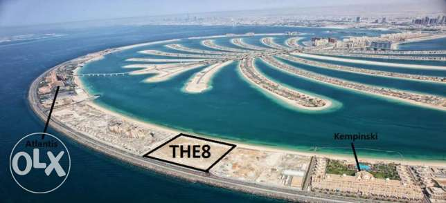 the8 from ifa in palm jumeira 1bedroom + maidr sea view مسقط -  1