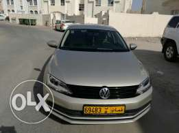 Volkswagen jetta model 2015 metalic golden color 2000cc for sale