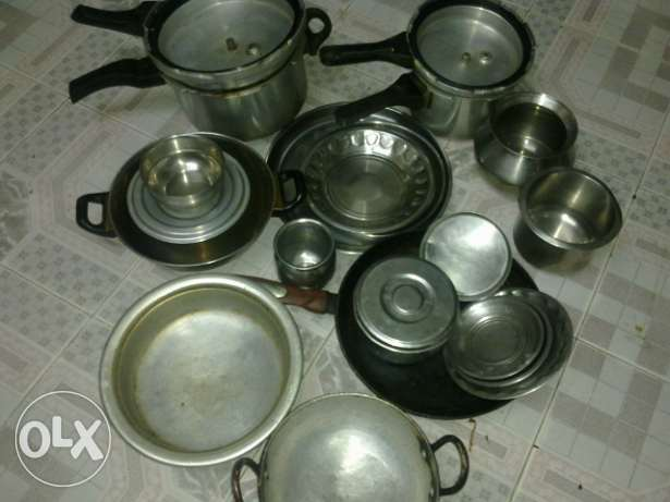 Cooking vessel's and cooker etc for sale نزوى -  3