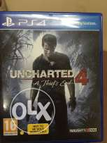 العاب PS4 (Uncharted 4 + Ratchet & Clank)s