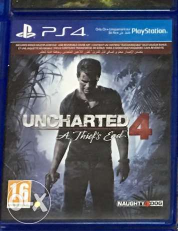 Uncharted 4 Ps4 games only for 10ro