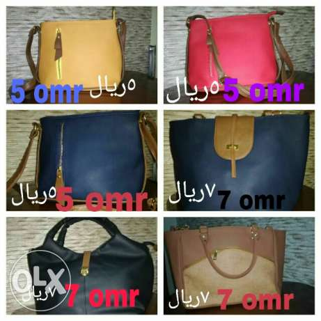 Ladies fashionable bags for a cheapest prices are now on hands .start مسقط -  6