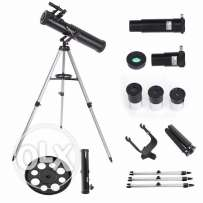 700-76 Reflector Astronomical Telescope Black