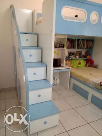 Bunk Bed, made in Indonesia of high quality.