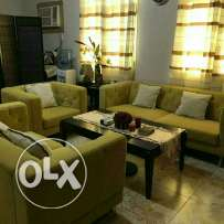 Sofa set ( 3. 2.1 ) from home center only for sale