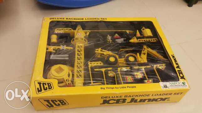 jcb junior collection toy