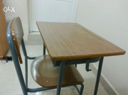 Kids study table with chair for sale