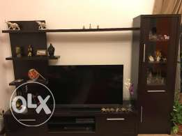 Show Case and TV stand