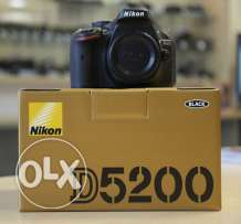 Nikon D5200 DSLR (Body only) NEW with all Accessories