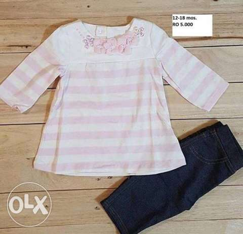 Girl's clothes for 12-18 mos.