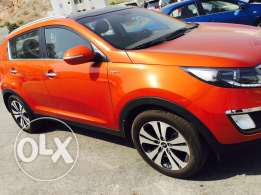 Kia Sportage. Oman Agency. 2013 model. 48000 km