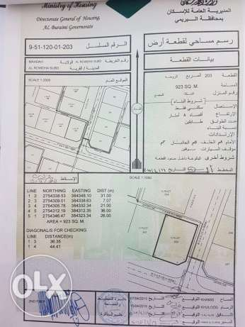 Land for sale in Mahdha 44KM to Dubai town on the road