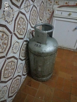 Gas Cylinder with stove