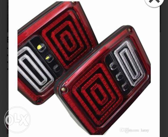 Modified Tail Lights for Jeep