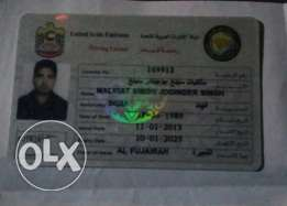 Indian Heavy Driver (UAE license) Medical Ready