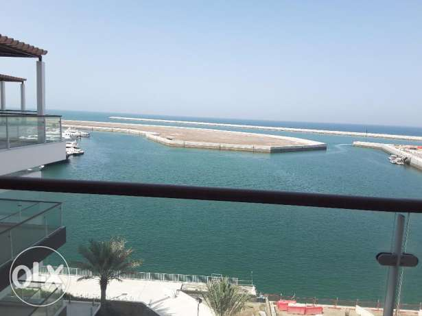 Ocean view fully furnished two bed apartment at Al Mouj