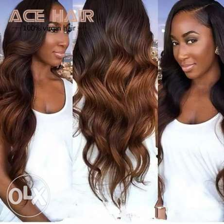 Original human hair extensions. مسقط -  5