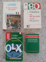 Italian and Spanish books