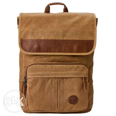 Timberland Imported Walnut Hill 18-Liter Waxed Canvas Backpack