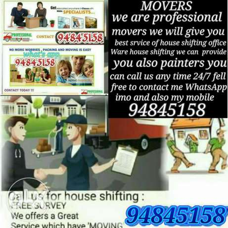 FIXTURES and movers company I have best team for house shifting fixing