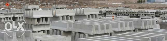 Road safety concrete barriers readily available مسقط -  4