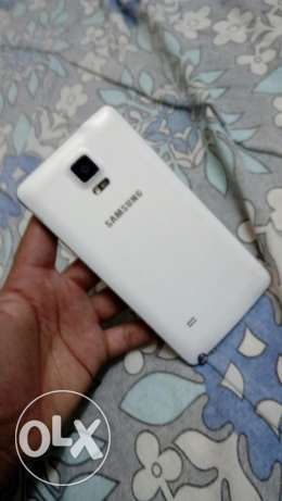 Samsung Galaxy Note 4 White مطرح -  2