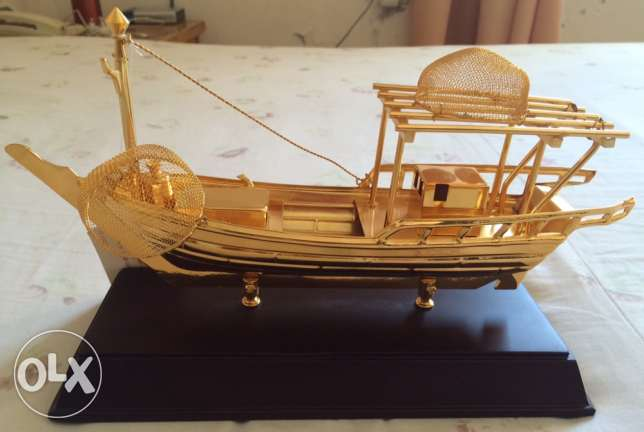 brass traditional boat مطرح -  1