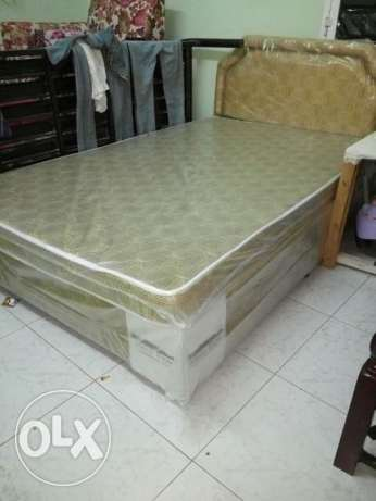 New bed and cabord for sale مسقط -  2