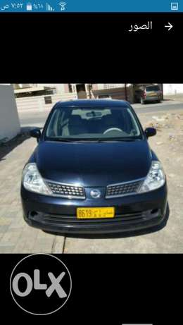 Tiida 1.6 model 2007 No.2 reg. & insurance 1 year السيب -  5