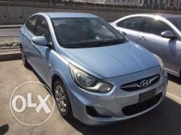 Hyundai for sale accent full service in company km only 65000 no accident