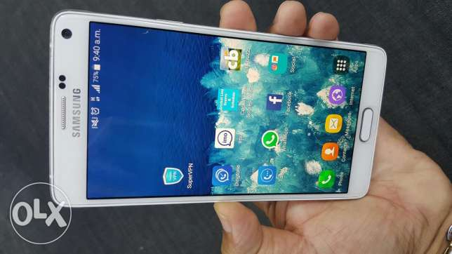 Note 4 very good like new