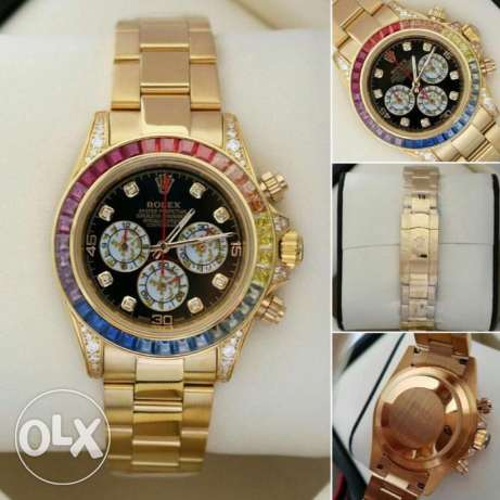 ROLEX Automatic Original Quality DAYTONA Swiss Made with Diamonds