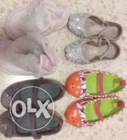 girls shoes (12-18months)